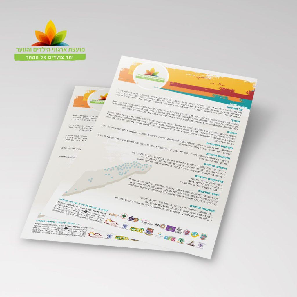 עיצוב דף פרופיל