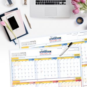 לוח תכנון שנתי 2018