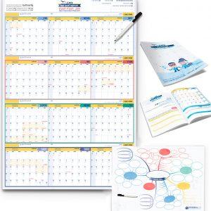 ערכת תכנון שנה מושלמת