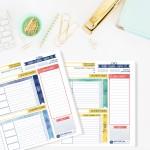 לוח תכנון חודשי דיגיטלי
