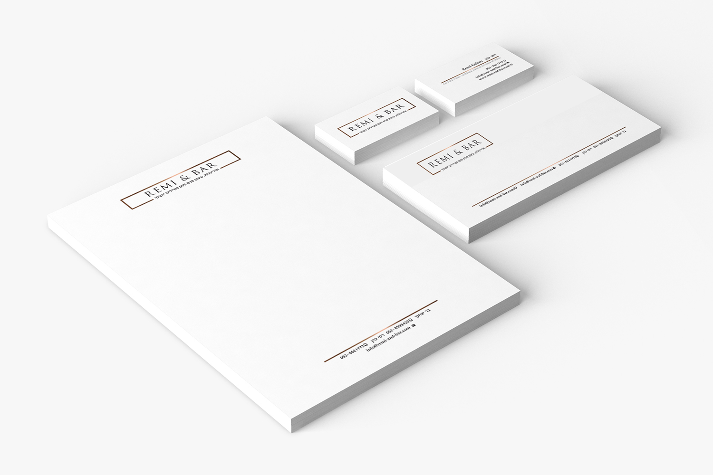 מיתוג מעצבות פנים- מיתוג ניירת למעצבות פנים ועדכון לוגו קיים