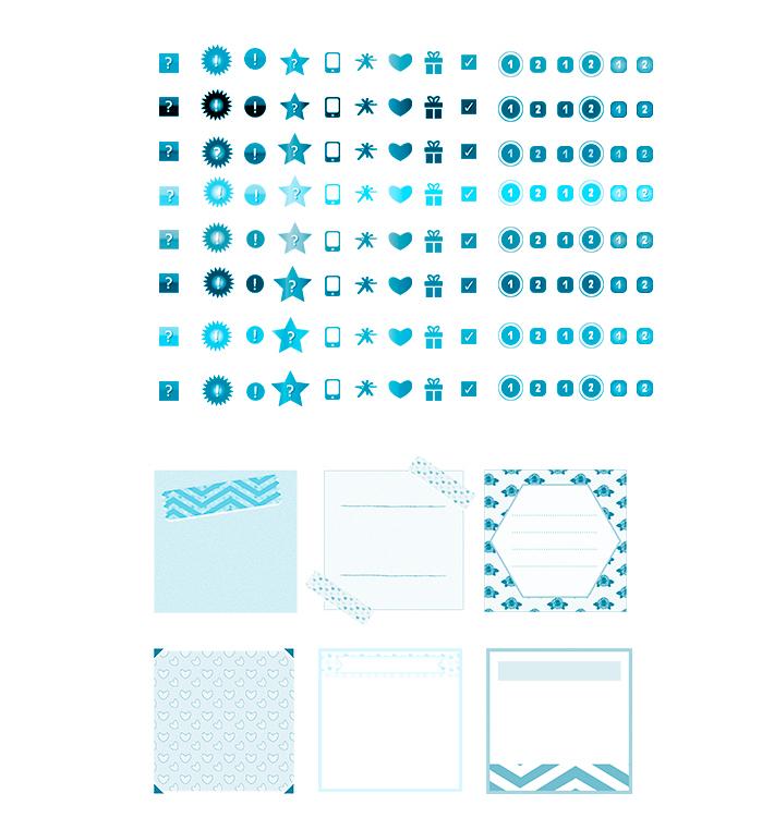 ערכת-עיצובים-תבליטים-וגרפיקות-לפייסבוק