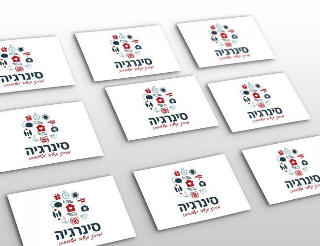 עיצוב כרטיס ביקור למרכז