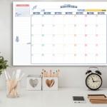 לוח תכנון חודשי מחיק