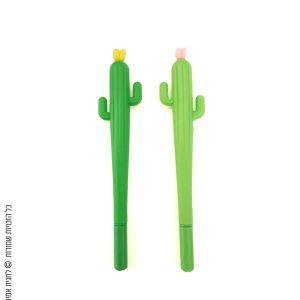 זוג עטים קקטוס