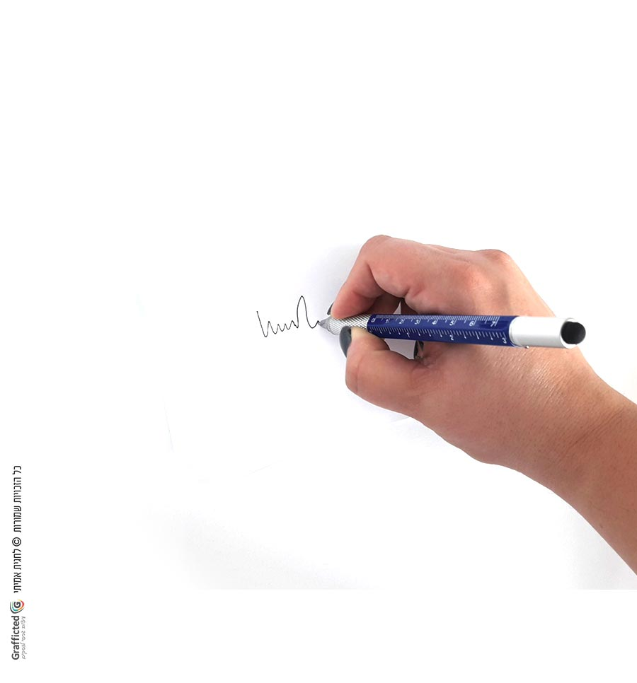 עט-עם-גוף-כחול-ודיו-שחור