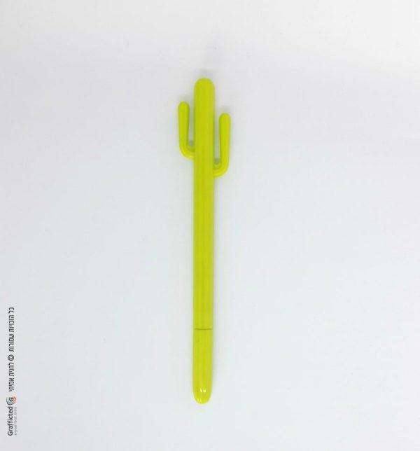 עט-קקטוס-דיו-שחור-ירוק-זוהר