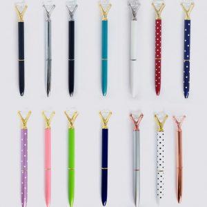 עטים מיוחדים- עט יהלום בצבעים