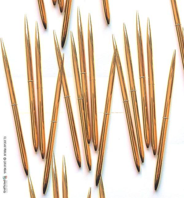מארז 50 עטי זהב