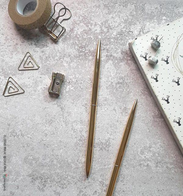עט זהב חלק מיוחד