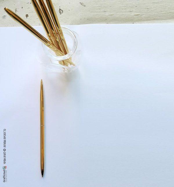 עט זהב מיוחד