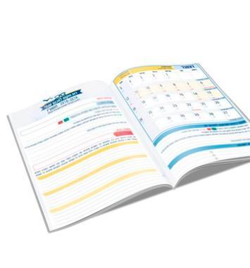 לוח שנה להדפסה קובץ דיגיטלי